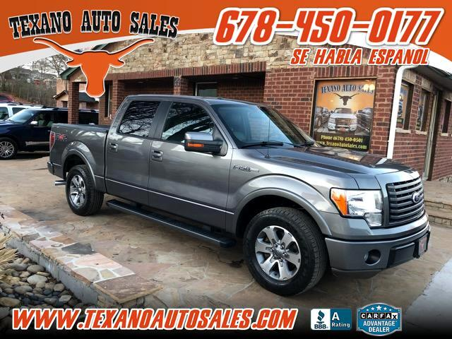 2010 Ford F-150 FX2 SuperCrew 5.5-ft. Bed 2WD