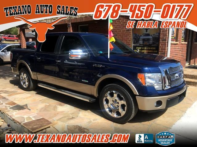 2011 Ford F-150 Lariat  SuperCab 5.5-ft. Bed 2WD