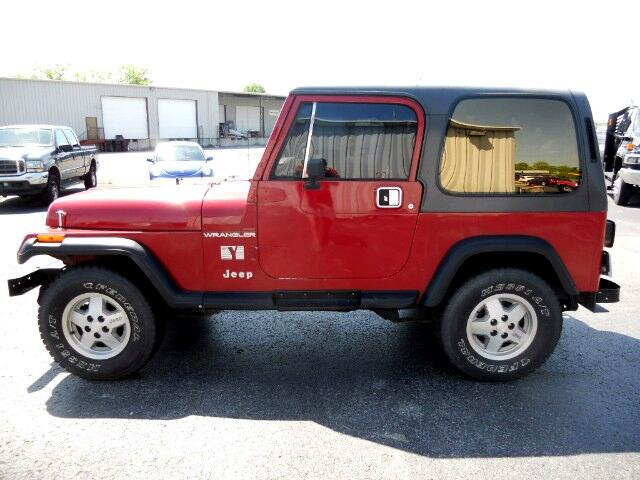 1988 Jeep Wrangler S Hard Top