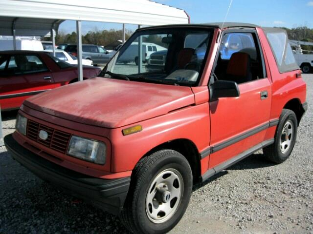 1993 Geo Tracker Convertible 4WD