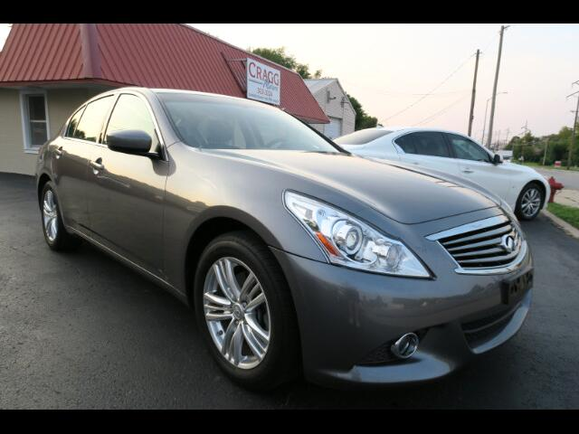 2013 Infiniti G37X With Navigation