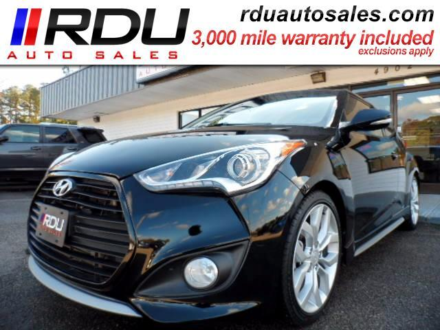 2014 Hyundai Veloster Turbo Leather Navi Cam Sunroof