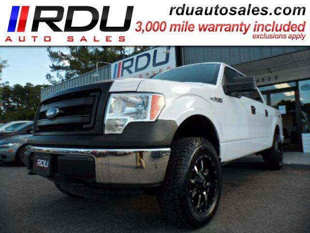 2014 Ford F-150 4X4 SuperCrew Cab XLT