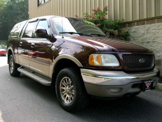 2002 Ford F-150 King Ranch SuperCrew Short Bed 4WD
