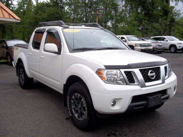 2015 Nissan Frontier PRO-4X Crew Cab 4WD