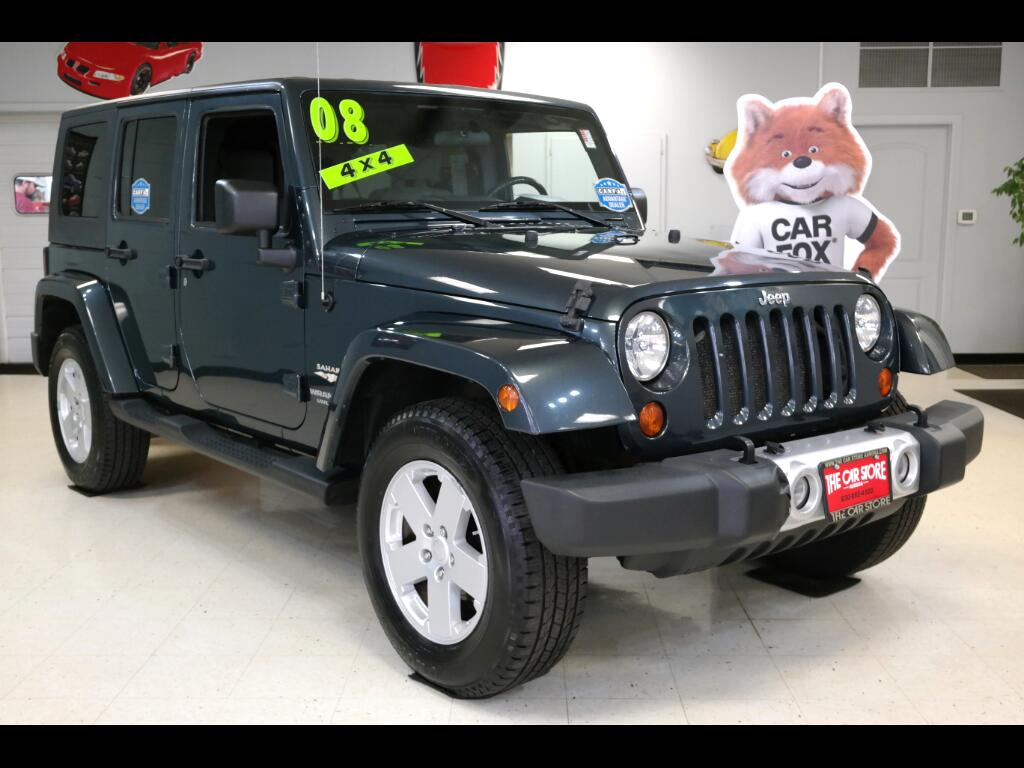 2008 Jeep Wrangler Unlimited 4WD 4dr Sahara