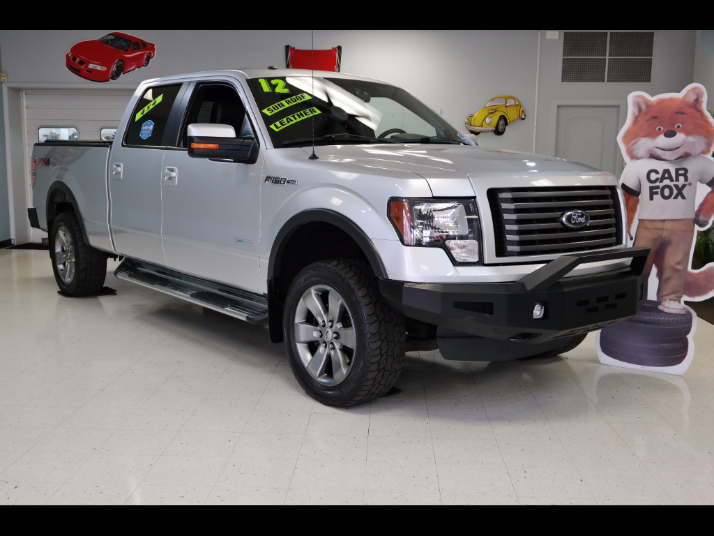 """2012 Ford F-150 4WD SuperCrew 150"""" FX4"""