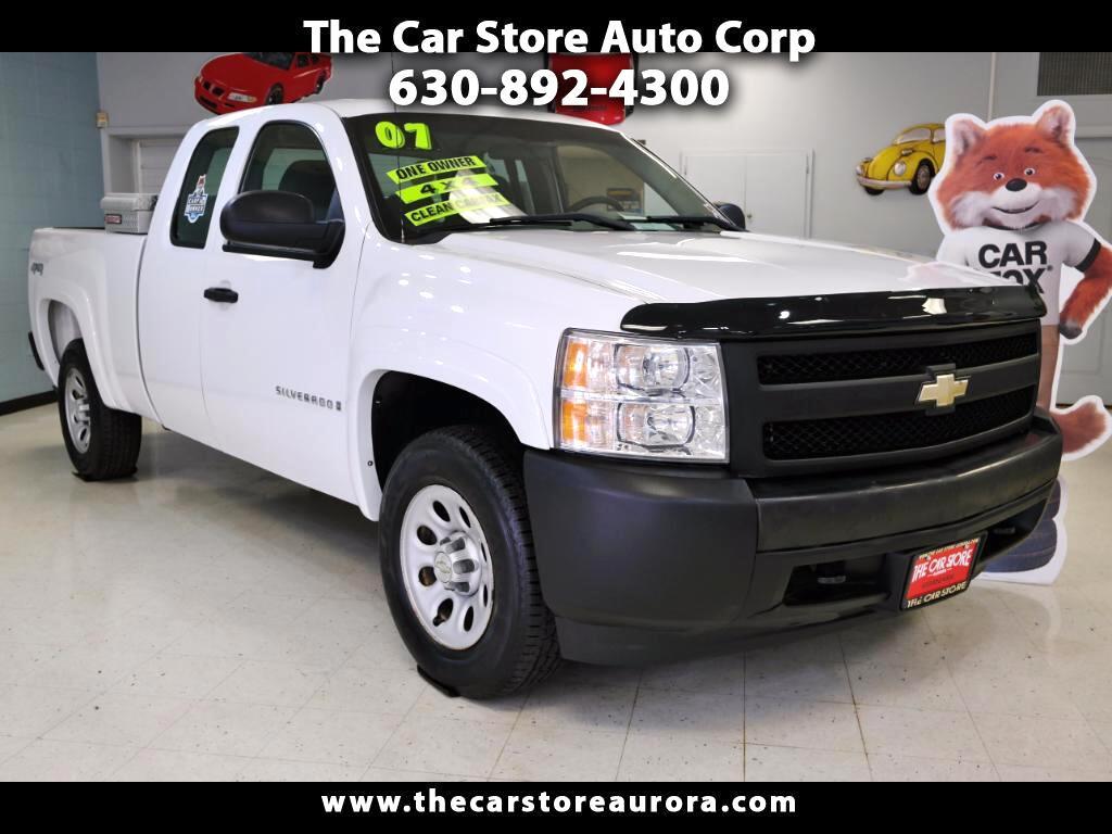 2007 Chevrolet Silverado 1500 Work Truck Ext. Cab 4WD