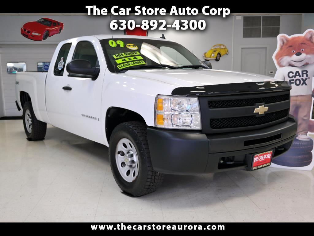 2009 Chevrolet Silverado 1500 Work Truck Ext. Cab 4WD