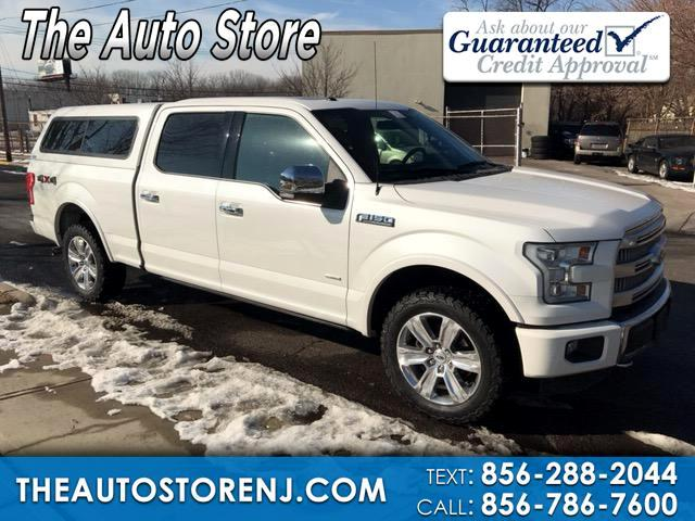 2015 Ford F-150 Platinum SuperCrew 6.5-ft. Bed 4WD
