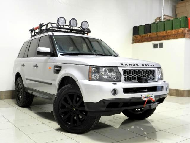 used 2006 land rover range rover sport supercharged custom lifted for sale in houston tx 77063. Black Bedroom Furniture Sets. Home Design Ideas