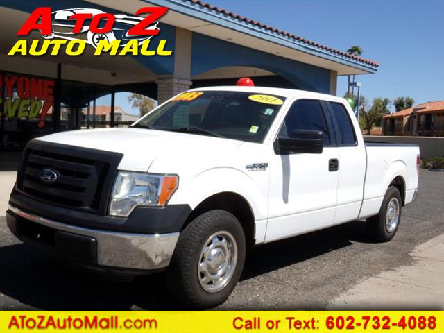 "2011 Ford F-150 2WD SuperCab 145"" XLT"