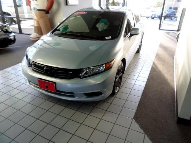 2012 Honda Civic EX Sedan 5-Speed AT