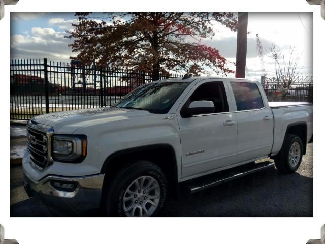 2016 GMC Sierra 1500 SLE Z71 CREW CAB LONG BOX 4WD
