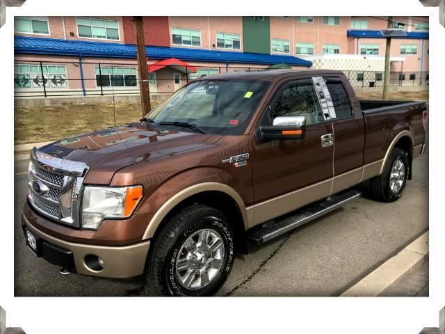 2012 Ford F-150 Lariat Extra Cab TEXAS EDITION 4WD