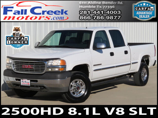 2001 GMC Sierra 2500HD SL Crew Cab Short Bed 2WD
