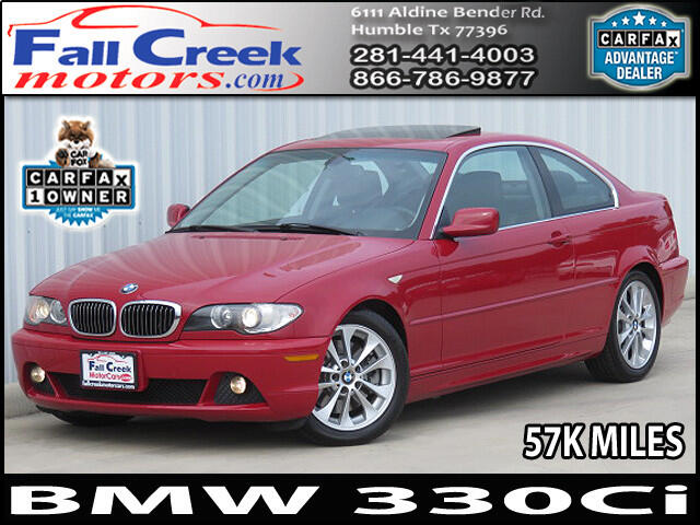 2005 BMW 3-Series 330Ci coupe