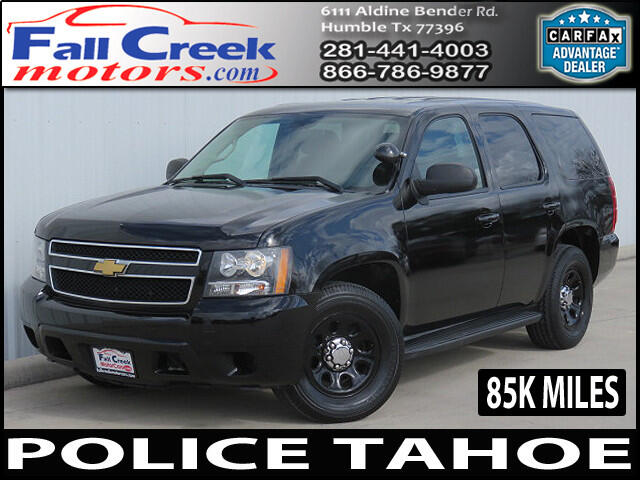 used 2012 chevrolet tahoe police for sale in humble kingwood atascocita tx texas 77396 fall. Black Bedroom Furniture Sets. Home Design Ideas