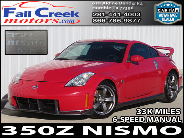 2007 Nissan 350Z NISMO Coupe