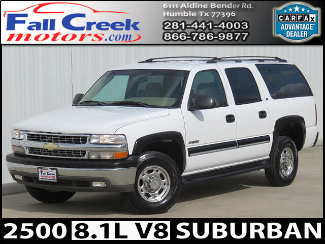 2001 Chevrolet Suburban C2500 2WD