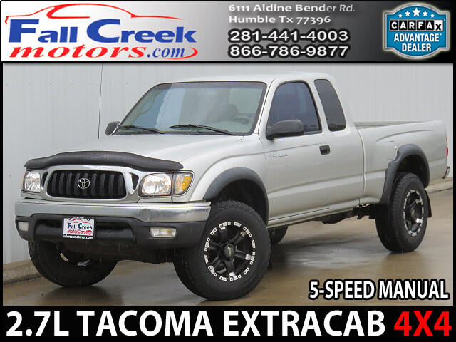 2002 Toyota Tacoma Xtracab 4WD