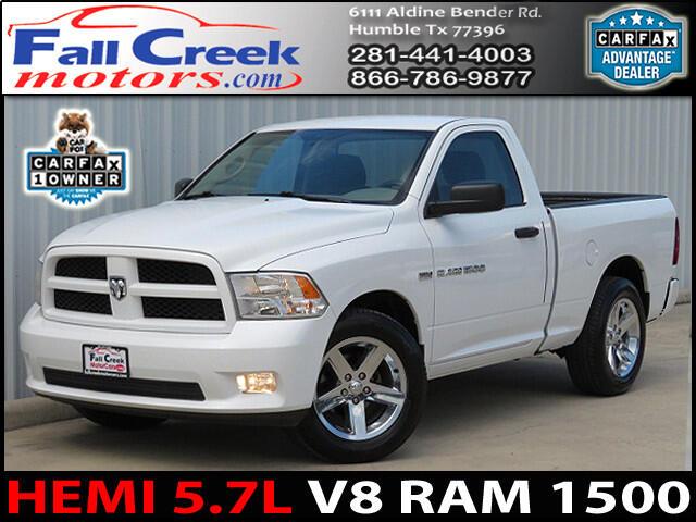 2012 RAM 1500 ST SWB 2WD
