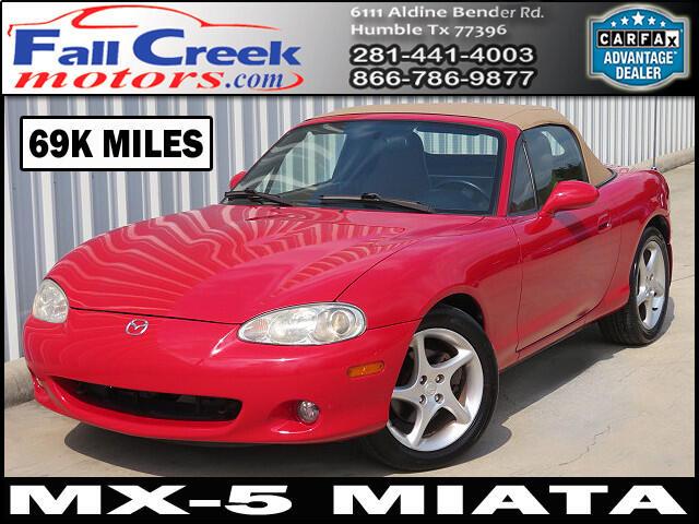 2002 Mazda MX-5 Miata LS