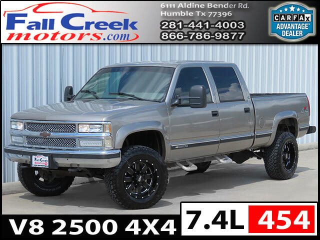 2000 Chevrolet C/K 2500 Crew Cab Short Bed 4WD