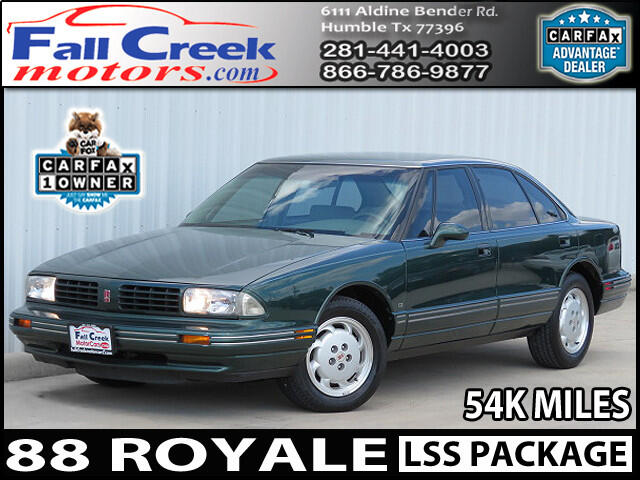 1994 Oldsmobile Royale LSS Special Edition