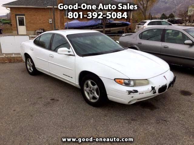 2000 Pontiac Grand Prix SE sedan
