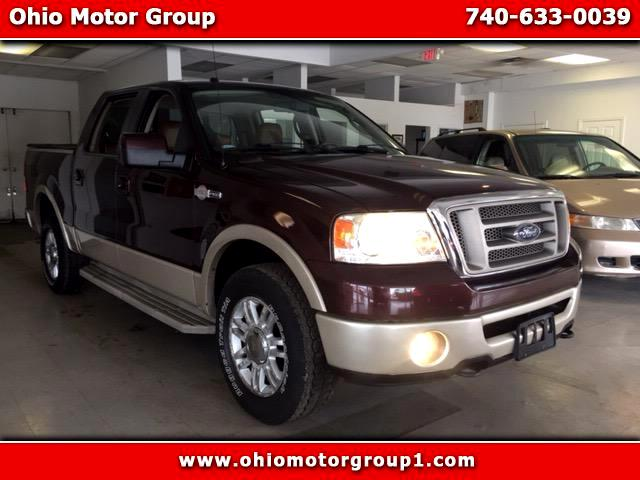 "2008 Ford F-150 SuperCrew 139"" King Ranch 4WD"