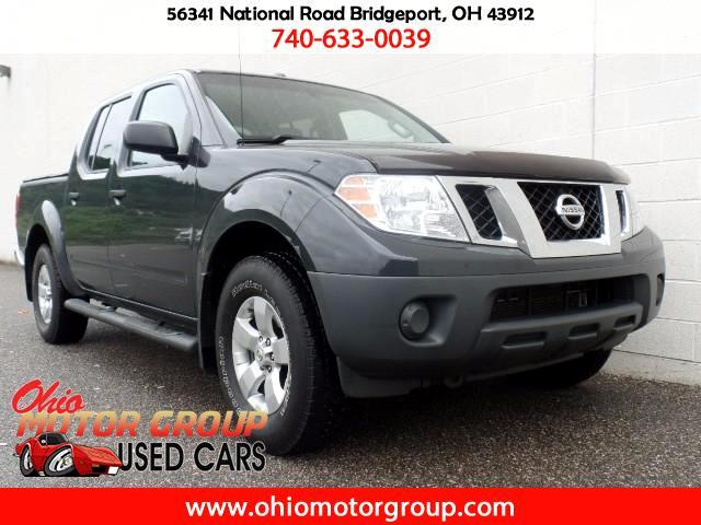 2012 Nissan Frontier SV Crew Cab LWB 5AT 4WD