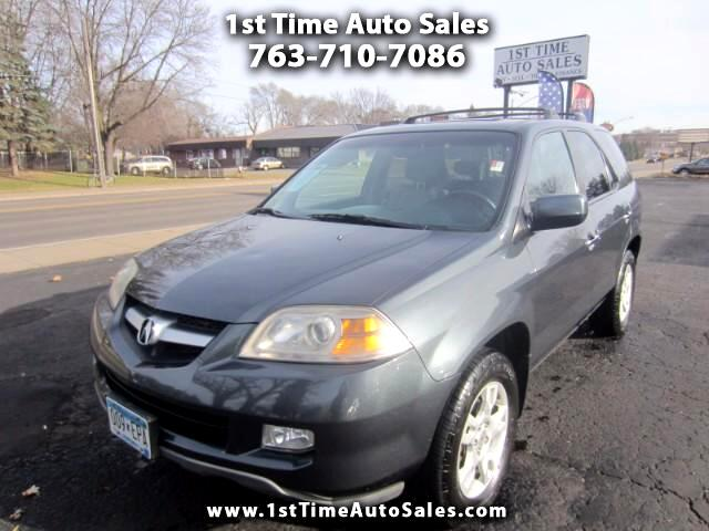 2004 Acura MDX Touring with Navigation System and Rear DVD System