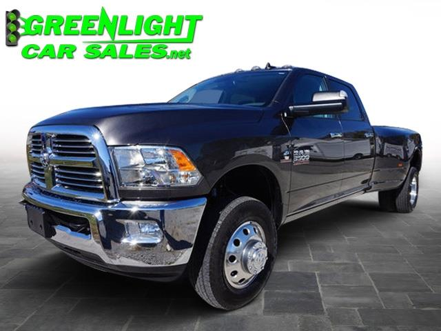 2016 RAM 3500 Big Horn 4x4 Crew Cab 8' Box