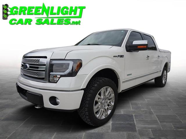 2013 Ford F-150 Platinum 4WD SuperCrew 6.5' Box