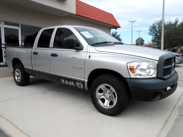 2008 Dodge Ram 1500 ST Quad Cab Short Bed 2WD