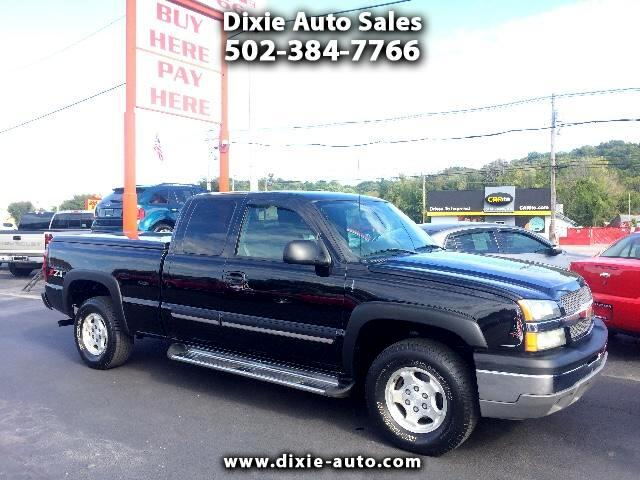 2004 Chevrolet Silverado 1500 Ext. Cab Short Bed 4WD