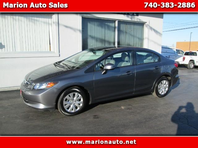 2012 Honda Civic LX 4 DOOR SEDAN