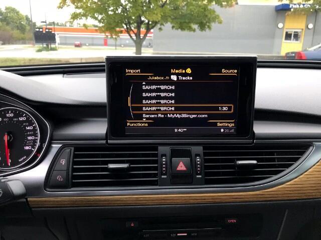 2013 Audi A6 2.0T Premium Sedan FrontTrak Multitronic