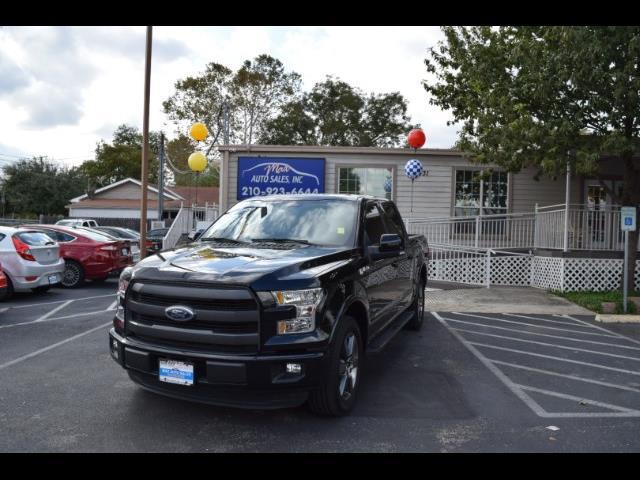 2016 Ford F-150 Lariat SuperCrew 5.5-ft. Bed 2WD