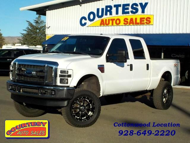 2009 Ford F-250 SD Lariat Crew Cab Short Bed 4WD