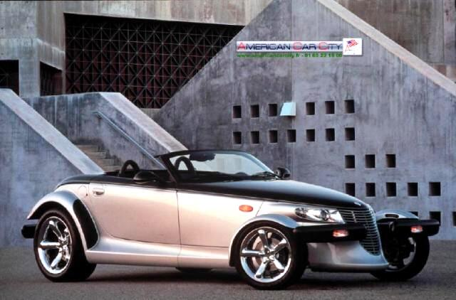 2000 Plymouth Prowler Black Tie Pilot car