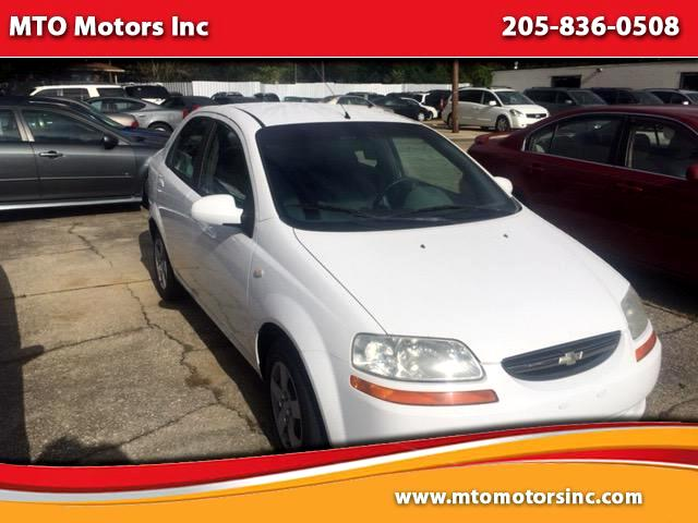 2005 Chevrolet Aveo Special Value Sedan