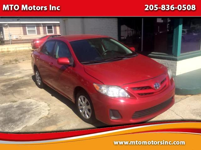 2011 Toyota Corolla Base 5-Speed MT