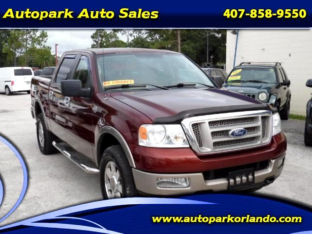 2005 Ford F-150 King-Ranch SuperCrew 5.5-ft. 4WD