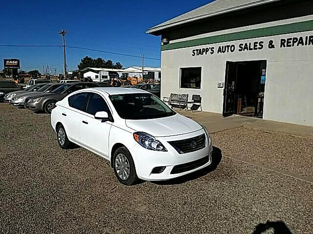 Used 2012 Nissan Versa 1 6 S Sedan For Sale In Garden City