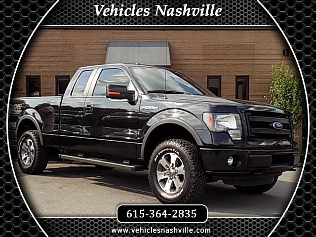 "2014 Ford F-150 4WD SuperCab 145"" FX4"