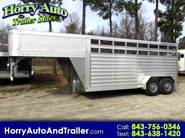 2016 Featherlite Trailers 8117 6 ft 6 inch x 16 ft x 6 ft 6 inch