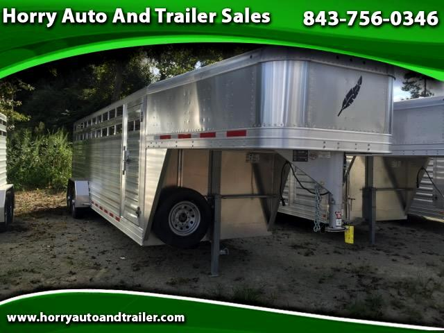 2016 Featherlite Trailers 8117 24ft stock