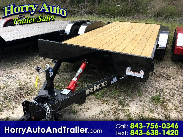 2017 Rice Full Tilt 18 ft car hauler